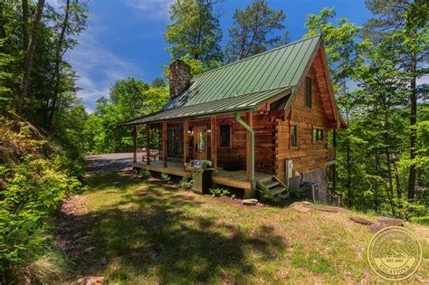 Chimney Rock Log Cabin Bryson City NC info by Carolina