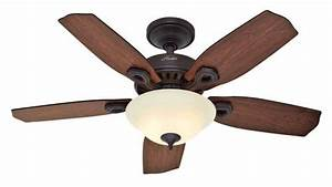 Hunter auberville quot new bronze five minute ceiling fan