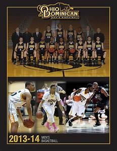 2013-14 Ohio Dominican Men's Basketball Guide by Ohio ...