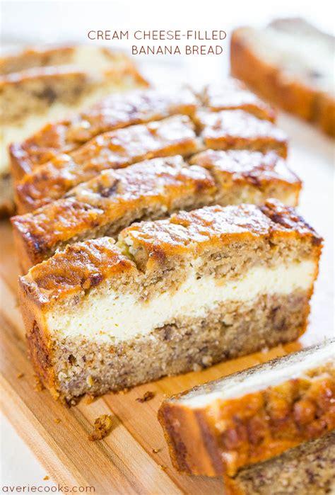 slow cooker banana bread cake  brown sugar sauce