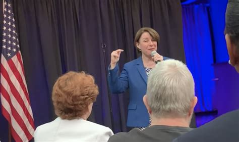 amy klobuchar  giving voting rights