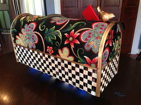 Decorated Mailboxes - a new decorative mailbox