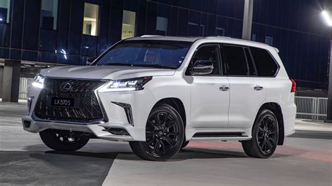 Lexus Lx 570 Black Edition 2020 by 2019 Lexus Lx 570 S Debuts In Australia With Angry