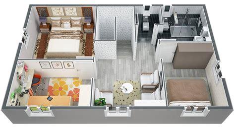 plan de maison a etage 100m2