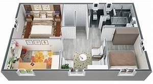 plan de maison a etage 100m2 With plan maison etage 100m2 3 plan de maison 100m2 avec garage idees novatrices de la