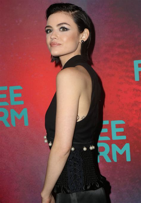 Lucy Hale at Freeform Upfront in New York 4/19/2017 ...