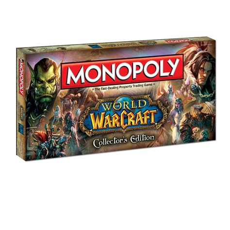 monopoly world  warcraft collectors edition board game