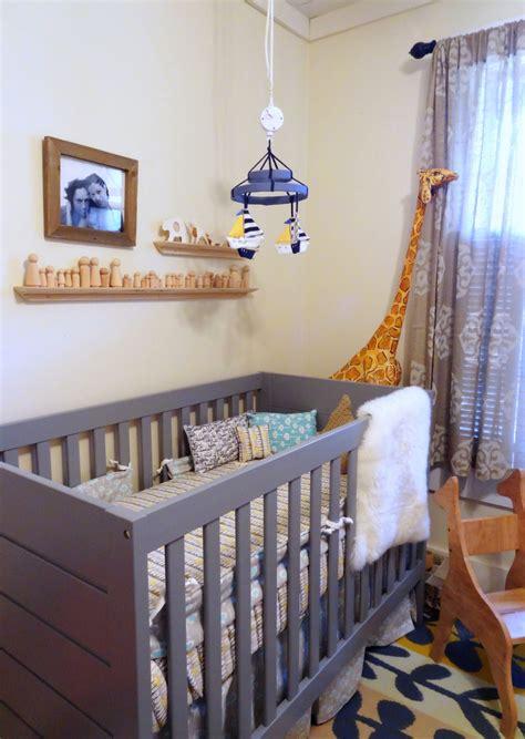Kinderzimmer Junge Modern modern baby boy nursery inspired by this