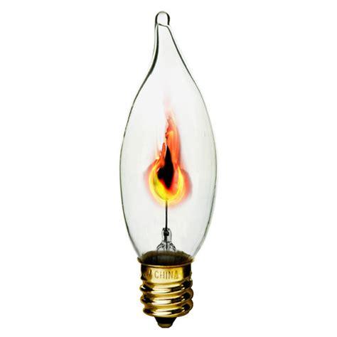 bulbrite 410313 3 watt flicker flame bulb