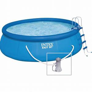 Piscine Intex Hors Sol : piscine hors sol autoportante tubulaire easy set intex ~ Dailycaller-alerts.com Idées de Décoration
