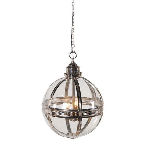 round glass pendant light helena round silver glass ball pendant