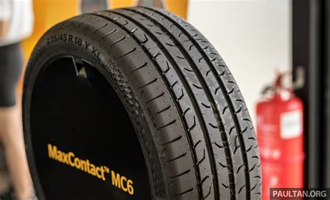 Continental Maxcontact Mc6 Launched