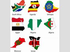 Flags for African Countries Fun Facts
