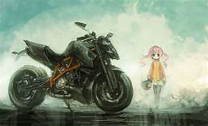 Ktm artwork vehicles motorbikes anime girls original ...