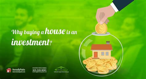 Why Buying A House Is An Investment?  Homes By Pasha