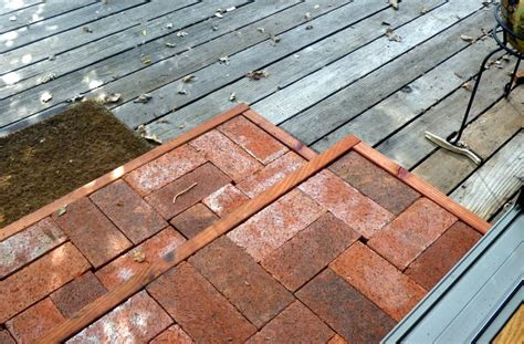 How to Build a Brick Step on a Wood Deck in your Edible