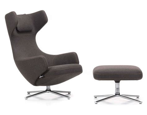 grand repos lounge chair ottoman hivemodern
