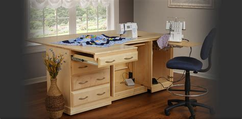 Custom Sewing Machine Cabinets by The Gristmill Collection Buy Your Real Wood Sewing