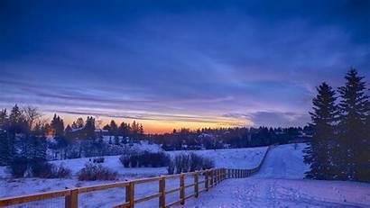 Personal Winter Desktop Landscape Efficiently Manage Ways