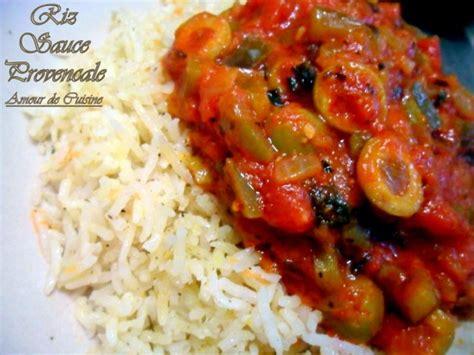 recette de cuisine provencale riz sauce provençale amour de cuisine
