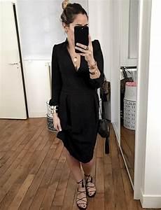 melant coupe elegante et twist sensuel cette robe noire With robe noire élégante