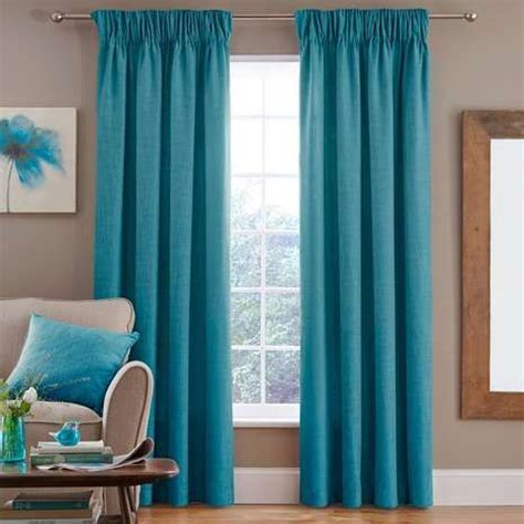 25 best ideas about teal pencil pleat curtains on