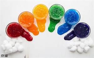 Rainbow Slime - How To Make A Rainbow With Color Slime