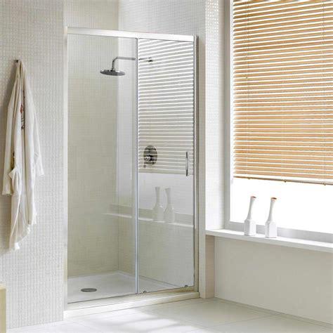porte in cristallo per doccia porta doccia un anta scorrevole per nicchia h198 cristallo