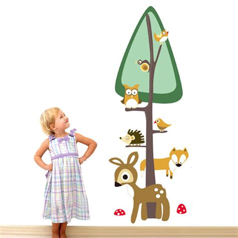 hot child height decor kids room growth chart measure wall