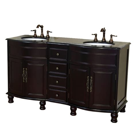 62 double sink bathroom vanity 62 inch double bathroom vanity with choice of top