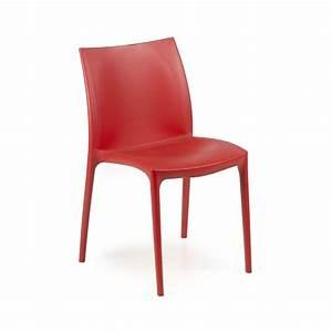 Kunststoff Stühle Stapelbar : stuhl mit sitz und r ckenlehne aus kunststoff stapelbar idfdesign ~ Indierocktalk.com Haus und Dekorationen