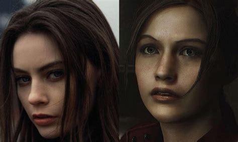 model wajah  karakter resident evil  remake