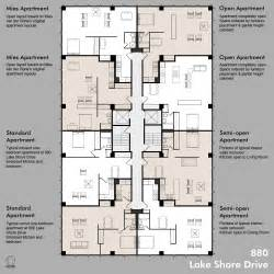 Floor Plans For Apartment Buildings by 880 Floor Plans Including Standard Apt
