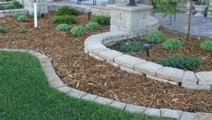 Fireplace Bricks Home Depot by Keystone Insignia Landscape Edger Landscape Edgers In