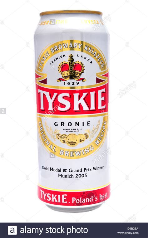 tyskie beer stock  tyskie beer stock images alamy