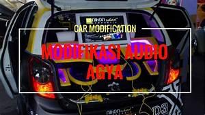 Modifikasi Audio Mobil Agya