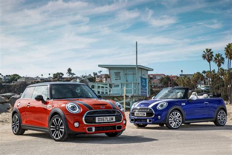 mini cooper lineup unveiled top speed