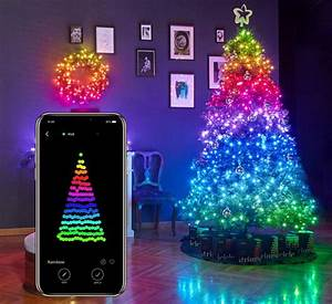 These, Smart, String, Lights, Lets, You, Program, Your, Own, Christmas, Tree, Lighting
