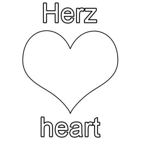Ausmalbilder herzen zum ausdrucken kostenlos, 2021 free download. Kostenlose Malvorlage Englisch lernen: Herz - heart zum ...