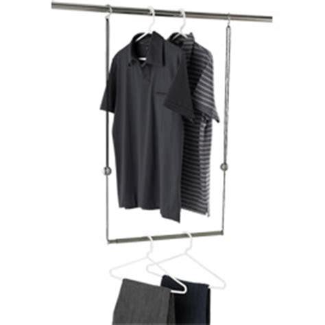 dublet adjustable closet rod expander by umbra 174 shop