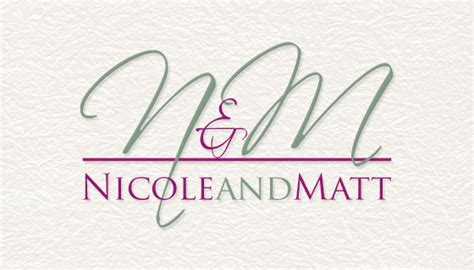 wedding logos custom wedding monogram event logo house