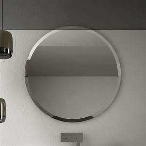 Spiegel Rund 50 Cm : art ceram runder wandspiegel round 80cm mit geschliffenem rand ~ Indierocktalk.com Haus und Dekorationen