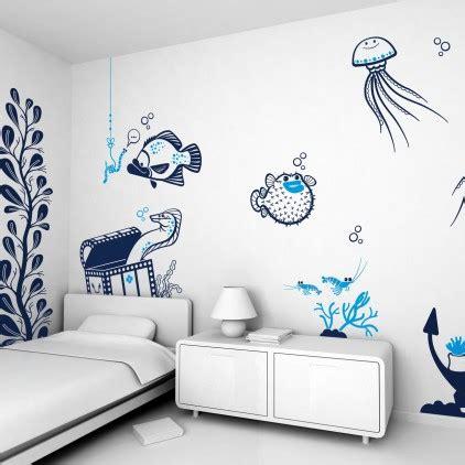 stickers marin chambre bébé room decor theme bedroom wall