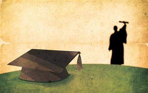 Graduate Background Graduation Vintage Background Concept The Chronicle Of