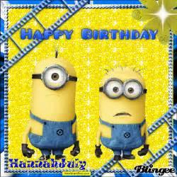 Minion Happy Birthday Wishes