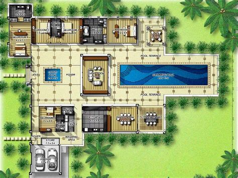 awesome  images luxury villas plans home plans