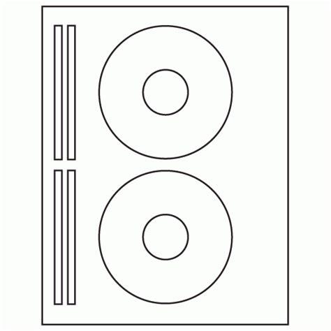 face  spine sheet white laser inkjet cd label ml
