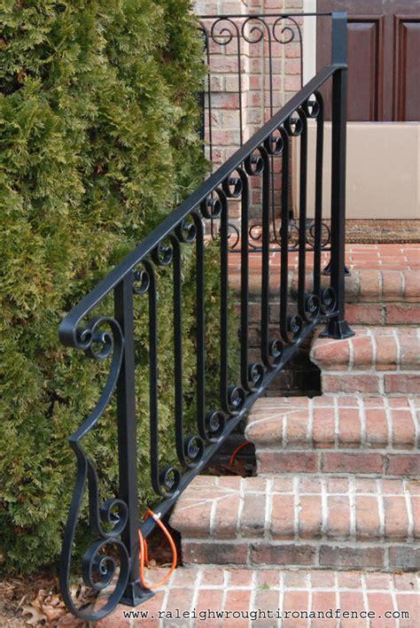 wrought iron handrail greensboro nc custom wrought iron railings raleigh wrought 1193