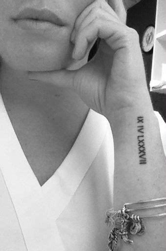 roman numeral wrist tattoo designs ideas  meaning