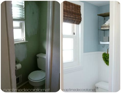budget powder room makeover   afters